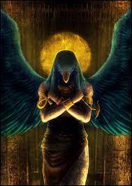 Déesse de Haute-Égypte planant au-dessus de pharaon, dont elle était la protectrice. Qui est-elle ?