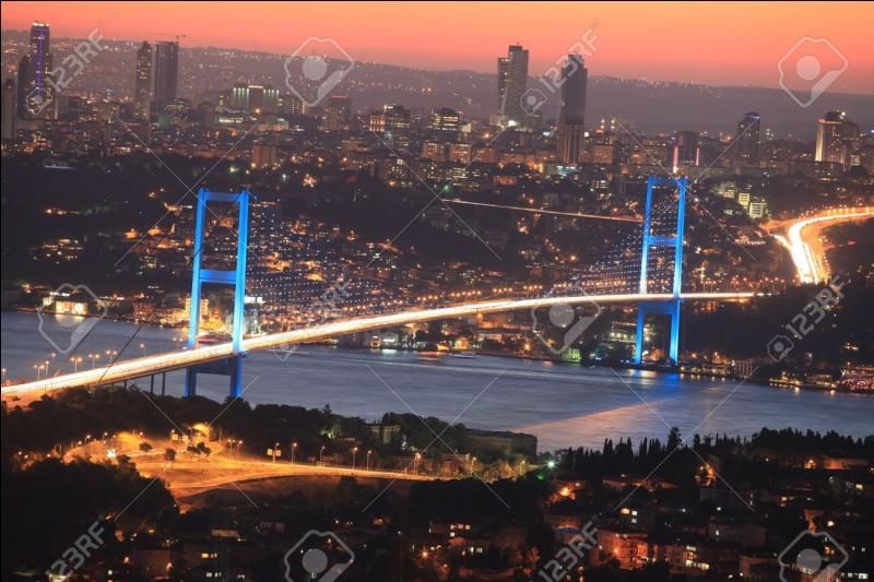 """Dans lequel de ces pays se situe le pont du Bosphore, ce pont intercontinental rebaptisé """"pont des Martyrs du 15-Juillet"""" ?"""