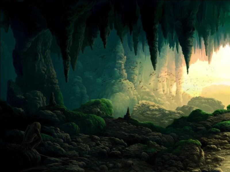 Que crée le son des cavernes n°14 ?