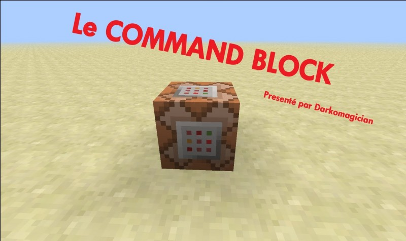 Qui nous parle lorsqu'on entre la commande /help dans un command block ?