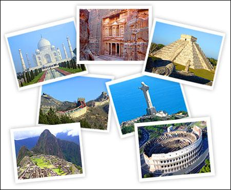 Quels sont tous ces monuments ?
