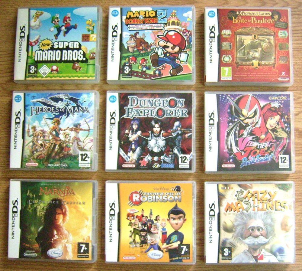 Quel jeu de DS es-tu ?