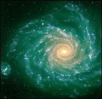 La vie des étoiles est tourbillonnante ! Elle est en constante évolution. Qu'indiquent tous ces points bleus que vous distinguez dans une folle danse cosmique ?