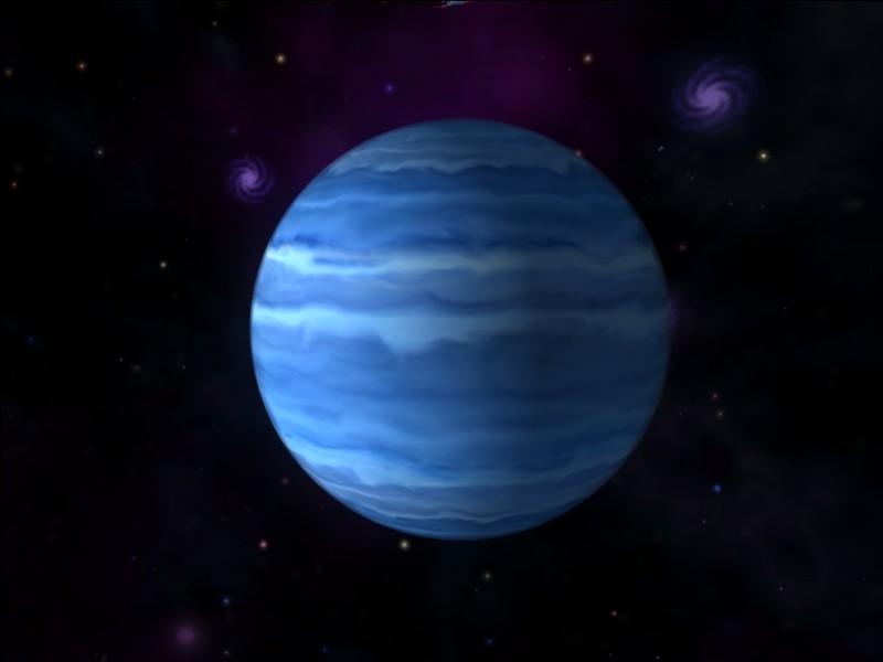 Quelle est cette planète géante de glace ?