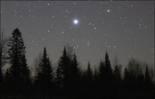 Quelle est l'étoile la plus brillante du ciel, vue de la Terre ?