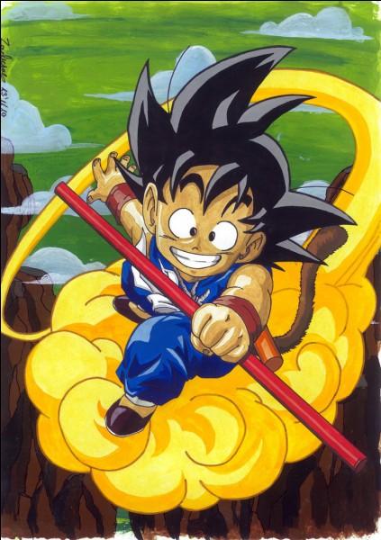 Quel est le nom du nuage supersonique de Son Goku en japonais ?