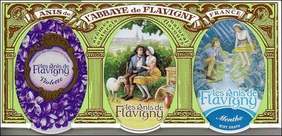 """Qu'ils sont bons les """"Anis de Flavigny"""" ! La fabrique artisanale est située au cœur de l'ancienne abbaye de Flavigny-sur-Ozerain, cité médiévale de la Côte d'Or, dans l'ancienne région administrative..."""