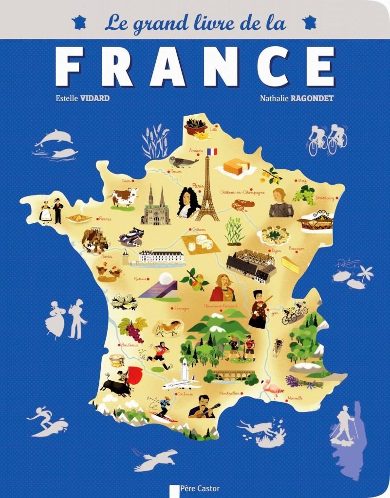 En France : villes, départements, régions, monuments, spécialités (1)