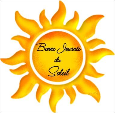 Le Soleil est...