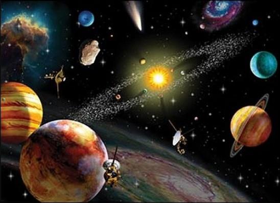 Populaire Quizz Le Système solaire dans l'Univers - Quiz Photos, Astronomie YL01