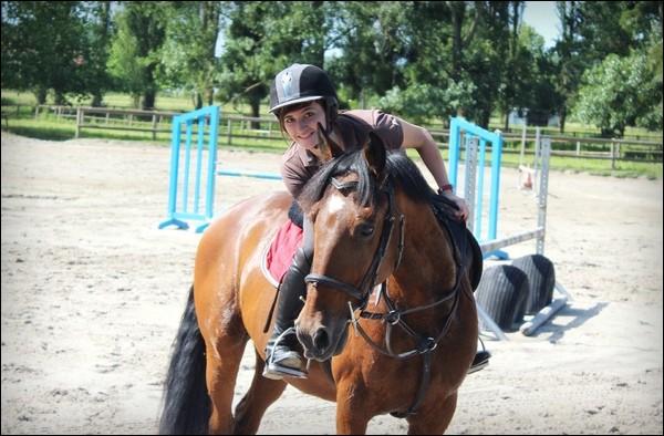Quel cheval monte le plus souvent Wendy ?