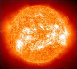 Le Soleil tourne dans la Voie lactée, par rapport à son centre, à une vitesse vertigineuse de 700 000 km/h environ.