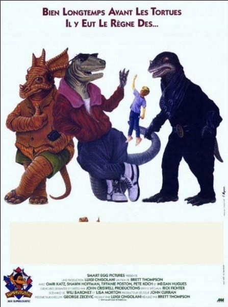 Retrouvez le titre de ces films (1991 à 2000) montrant des dinosaures ou d'autres animaux qui leurs sont contemporainsFilm de 1991...