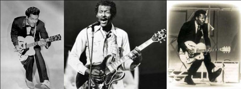 On ne parle pas que des étoiles de Broadway, car cette chanson est réellement partie pour les étoiles ! D'ailleurs, elle fait partie des éléments qui participent au plus grand « voyage » de l'humanité (plus de 28 milliards de kilomètres) ! Sinon, c'est l'homme, un « guitar hero », au fameux « pas de canard » qui la rendra célèbre !Quel est ce chanteur et quelle est cette chanson ?