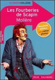 De qui Scapin est-il le valet ?
