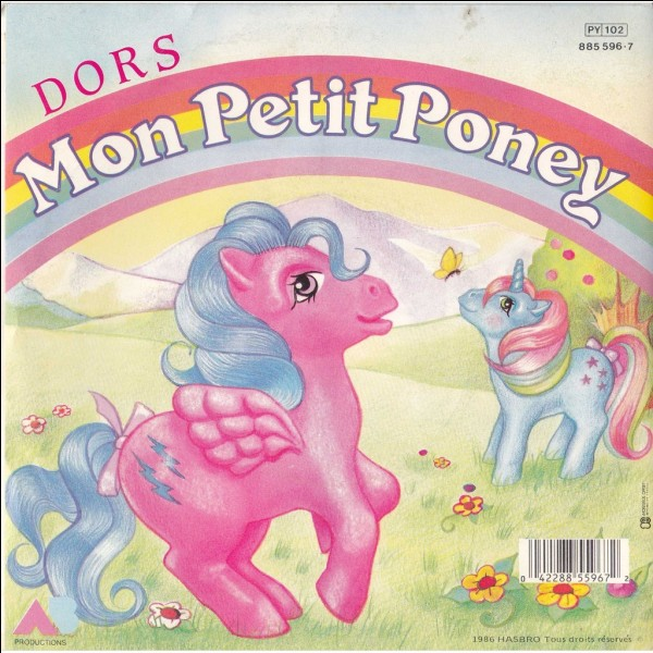 Et hop ! Au galop sur mon petit poney ! Mais sais-tu comment on appelle ce dessin animé au Québec ?