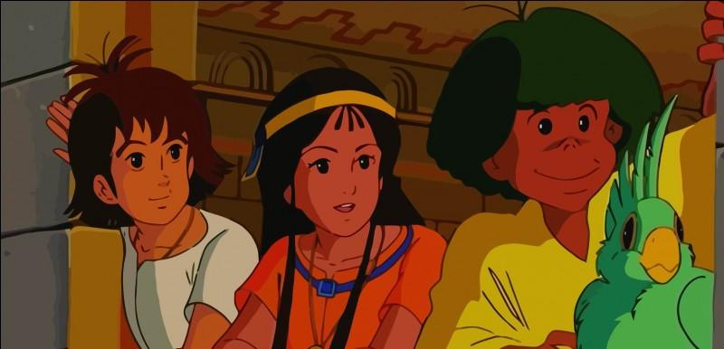 """""""Enfant du soleil, tu parcours la Terre, le Ciel. Cherche ton chemin, c'est ta vie, c'est ton destin !"""" Mais que cherche vraiment Esteban, Taô et Zia ?"""