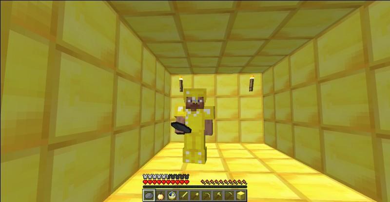Peut-on extraire de l'or avec une pioche en pierre ?