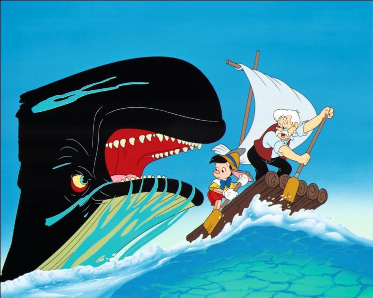 La Baleine - Dans quel Disney peut-on voir le personnage principal se faire avaler par une baleine ?
