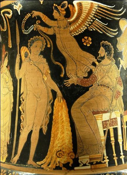 """J - Dans la mythologie grecque, """"Jason"""" doit rapporter la Toison d'or à son oncle Pélias afin de récupérer son trône."""