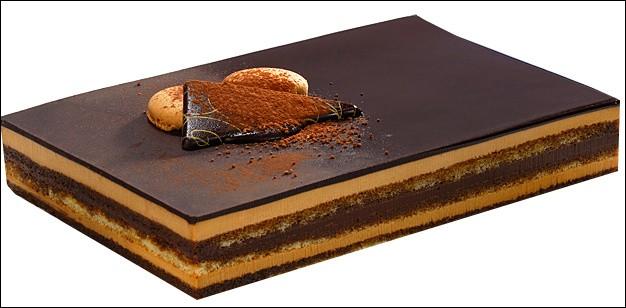 """O - Ce gâteau est un """"opéra""""."""