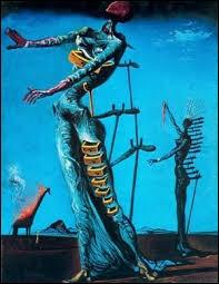 "La Girafe - Qui a peint ""La Girafe en feu"" ?"