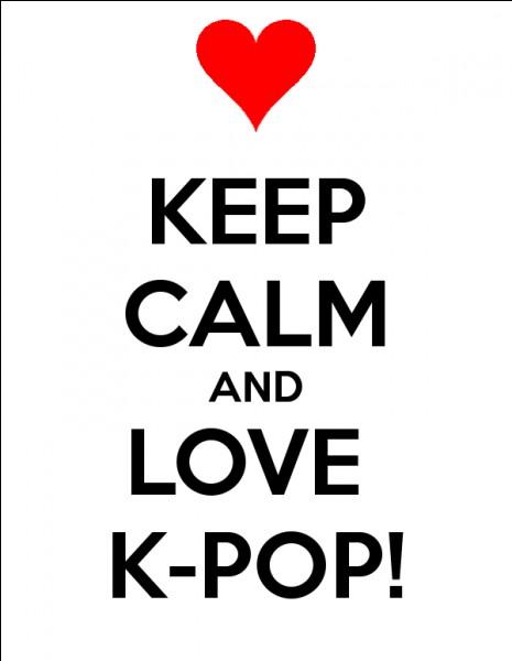 K-pop, ce sont :