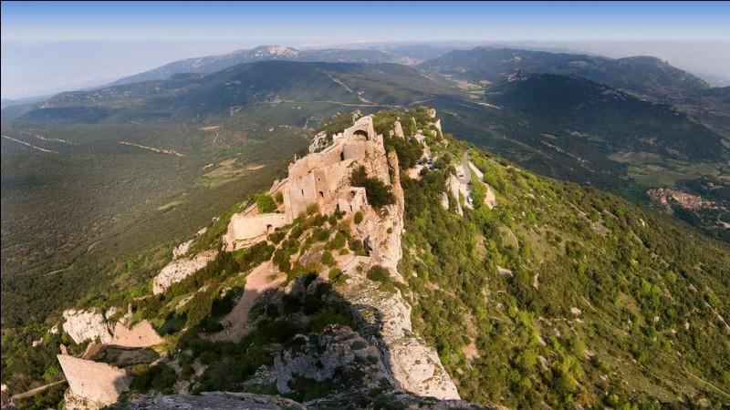 Élevons-nous une fois encore. Quel surnom donne-t-on au site du château de Peyrepertuse ?