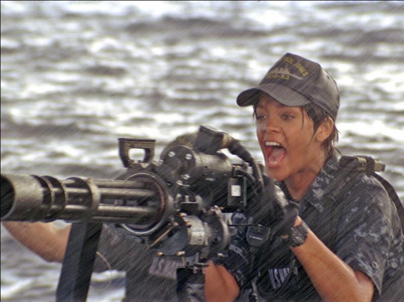 Dans quel film peut-on voir Rihanna en 2012 ?