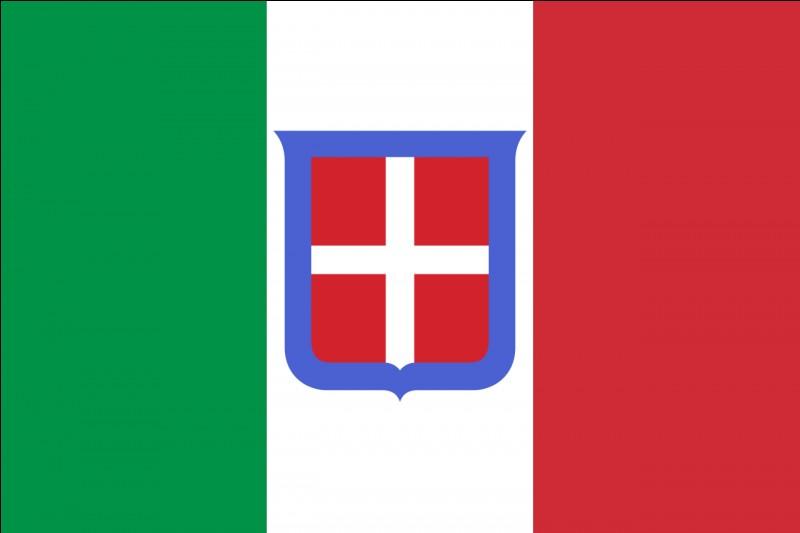 Le drapeau est un autre symbole bien utile au sentiment d'unité nationale.À quelle époque remonte l'origine du drapeau italien ?