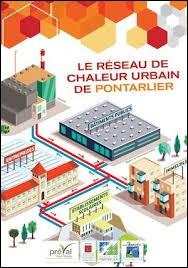 D'ici 2020, quelle est la part de chauffage à Pontarlier, qui sera fournie par la combustion des déchets, via le réseau de chaleur ?