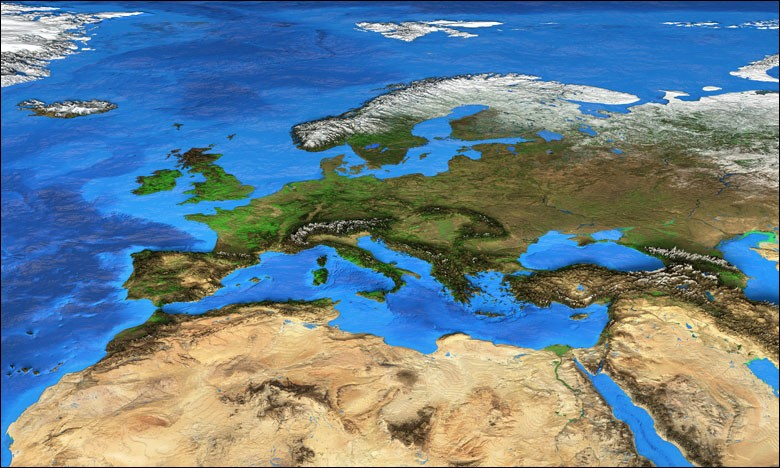 Combien de pays africains du Maghreb ont une frontière terrestre avec l'UE ?