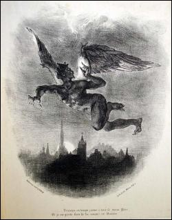 """Un peintre français a illustré le livre """"Faust"""" de Goethe. Il s'agit de :"""