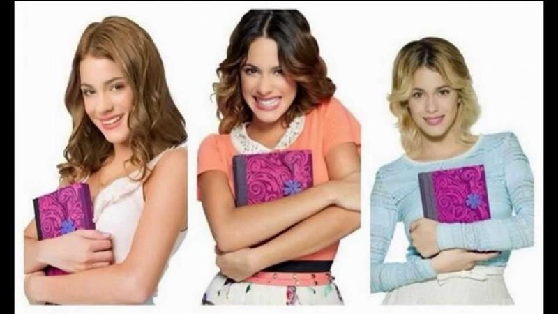 """Quelle saison de """"Violetta"""" préfères-tu ?"""