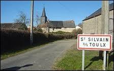 Village de l'ancienne région Limousin , Saint-Silvain-sous-Toulx se situe dans le département ...