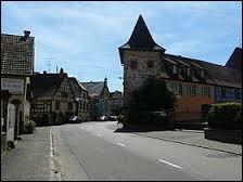 Nous partons pour commencer en Alsace, à Beblenheim. Village viticole de l'arrondissement de Colmar-Ribeauvillé, il se situe dans le département ...