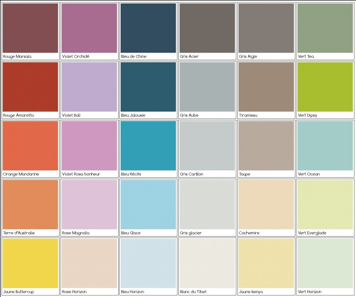 Quelle est ta couleur préférée ?