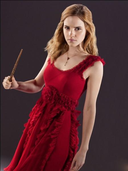 En qui se transforme-t-elle avec Harry et Ron pour passer tous inaperçus au Département des mystères ?