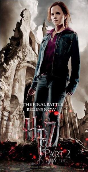 """Dans """"Harry Potter et les Reliques de la mort"""" (partie 2), quel Horcruxe Hermione détruit-elle ?"""