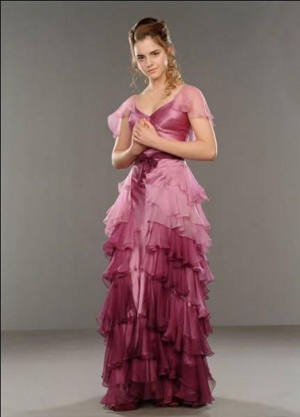 Avec qui Hermione se rend-elle au bal ?