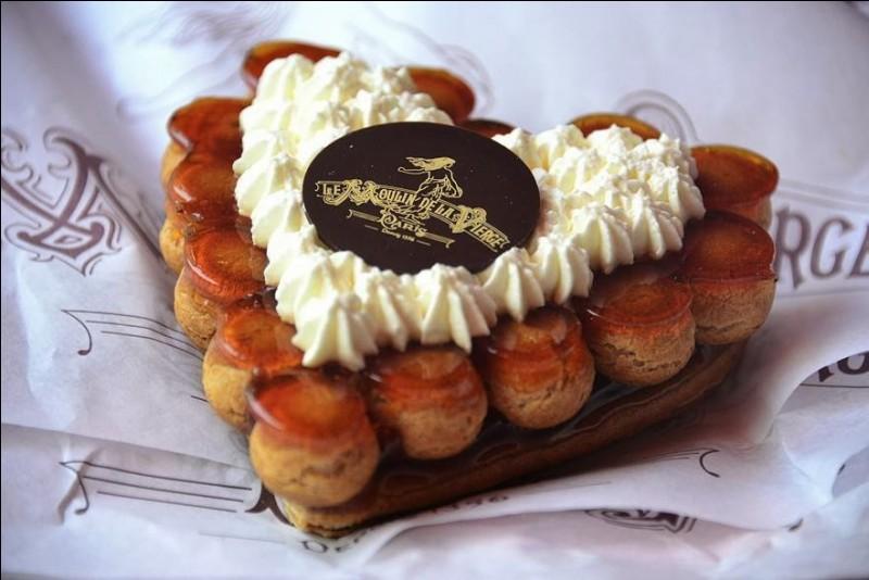 Quel est ce gâteau préparé avec amour, pour la Saint-Valentin ?