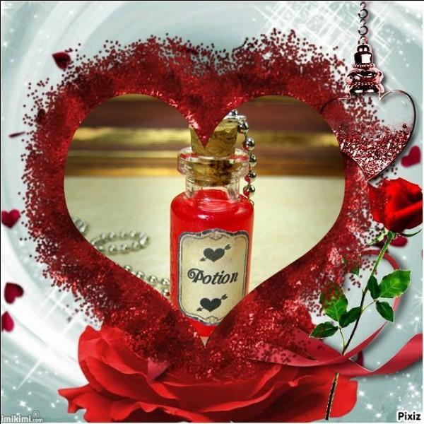 Si, pour cette Saint-Valentin, vous souhaitez déguster un petit philtre d'amour, quel ingrédient sera inefficace ?