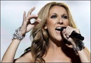 C'est l'heure vingt pour Céline Dion.