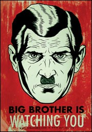 """En plein dans la période utopique, l'auteur de """"La ferme des animaux"""", George Orwell publie un autre livre dénonçant la dictature. Lequel ?"""