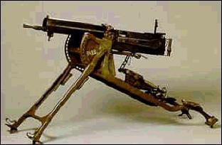 Comment se nomme cette mitrailleuse allemande ?