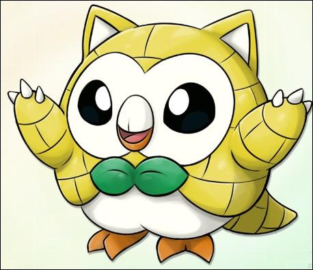 L'un est un starter (Pokémon de départ) qu'un doyen nous offre. L'autre fait une nouvelle apparition dans la même génération que le premier et change de type pour devenir Glace/Acier. Qui sont-ils ?