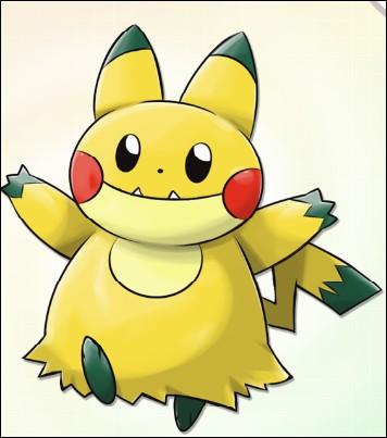 Mon premier est le Pokémon le plus connu mondialement. Il n'a pas été dressé par son dresseur, c'est lui qui a dressé son dresseur. Mon second est la sous-évolution d'un Pokémon ayant également fait partie de l'équipe de Sacha, il passe tout son temps à manger et dormir ! Qui sont-ils ?