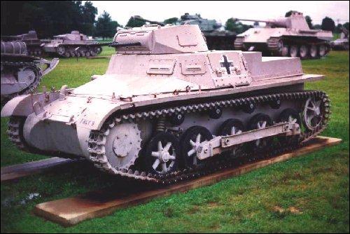 Petit char allemand c'est le...