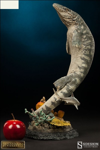 Quel reptile marin représente cette figurine ?