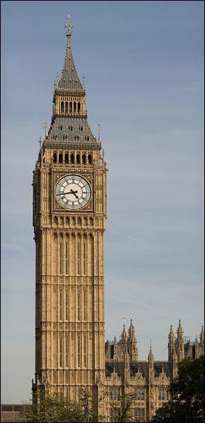 Quel est le poids de Big Ben?
